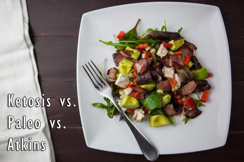 Keto vs. Paleo vs. Atkins