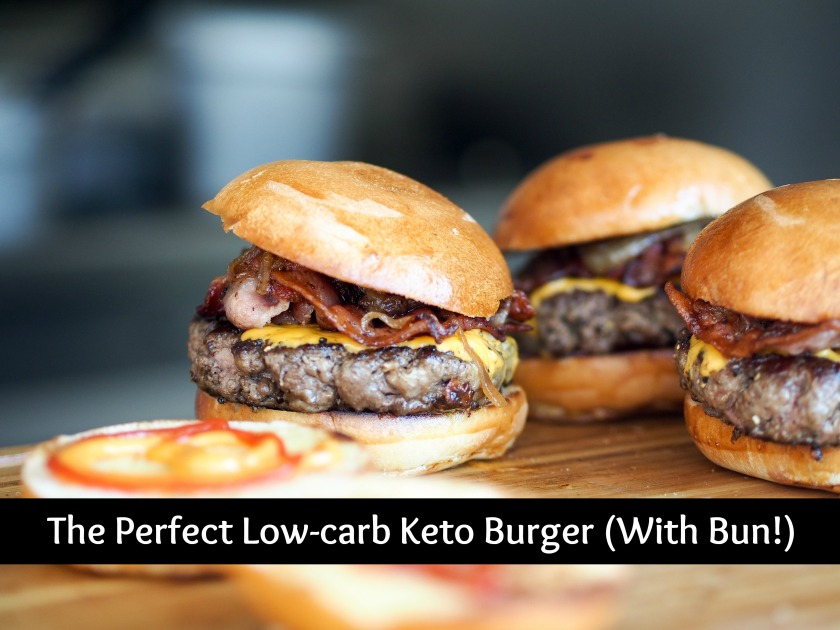 The Perfect Low-carb Keto Burger (with Bun!) | Ketoship
