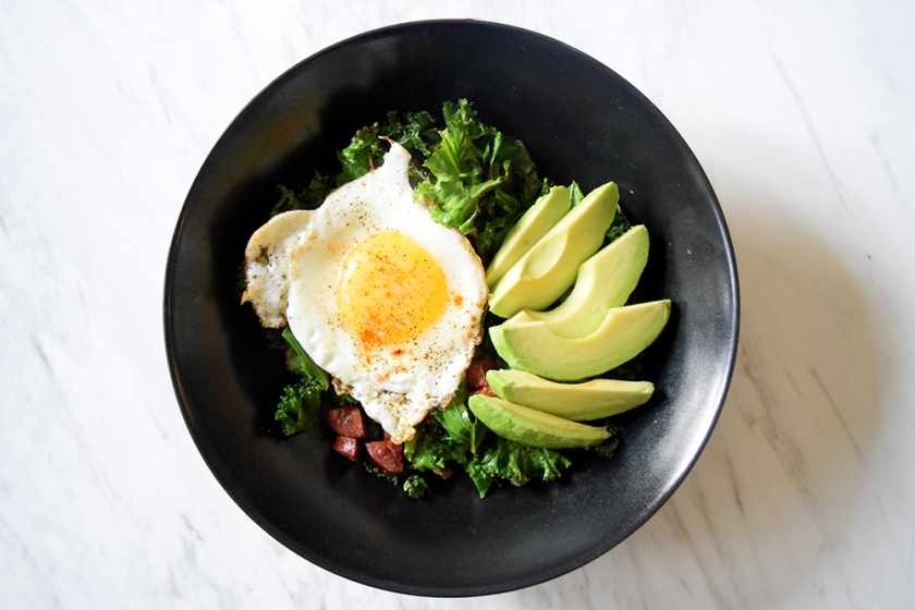 Keto Chorizo Breakfast Bowl Recipe | Ketoship