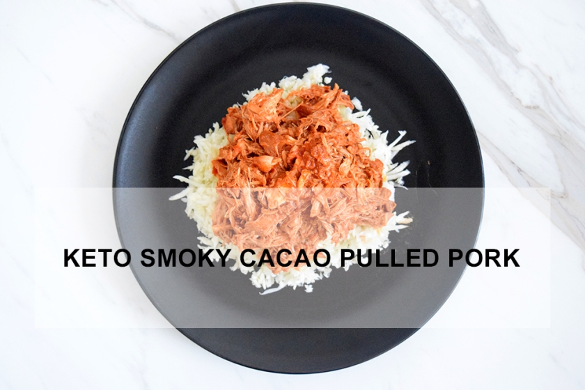 Keto Smoky Cacao Pulled Pork Recipe | Ketoship