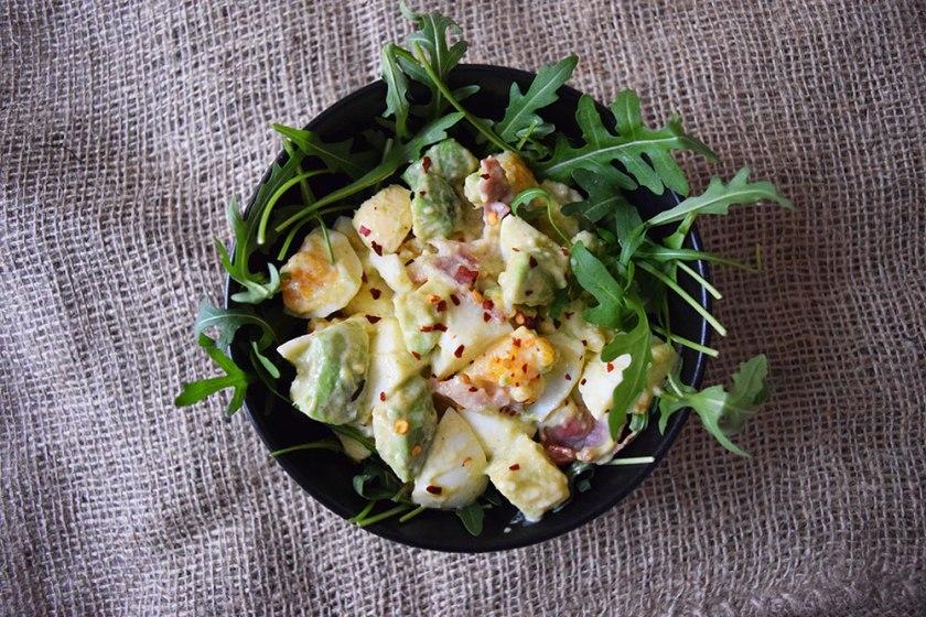 Delicious Keto Avocado BLT Salad | Ketoship