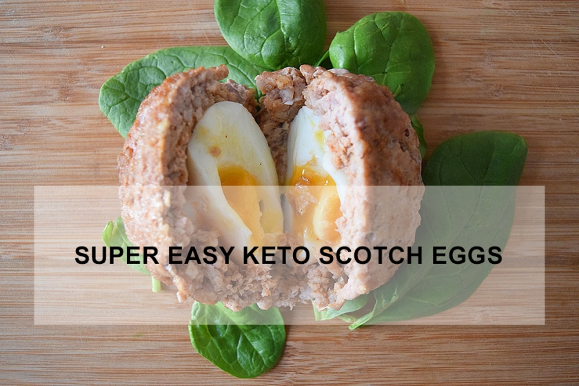 Super Easy Keto Scotch Eggs recipe | Ketoship