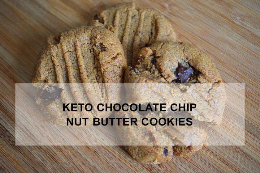 Keto Chocolate Chip Nut Butter Cookies | Ketoship