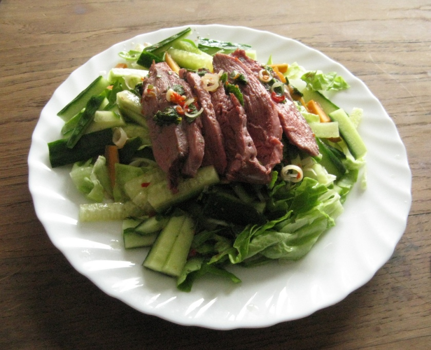keto duck salad